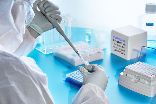 Covid test lab