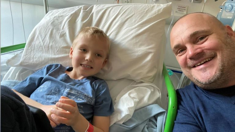 Comedian Al Murray urges people to sign stem cell register after nephew is struck by a rare blood disorder